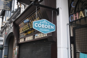 Entrance to Cobden Chambers