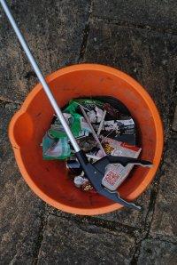 Ten minutes, a bucket and a litter picker!